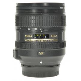 Nikkor AF-S 24-85mm f/3.5-4.5G ED VR -objektiivi