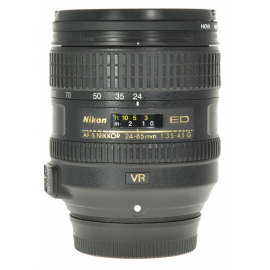 Nikkor AF-S 24-85mm f/3.5-4.5G ED VR Zoom Lens