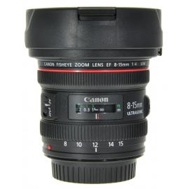 Canon EF 8-15mm f/4L USM kalansilmä-objektiivi
