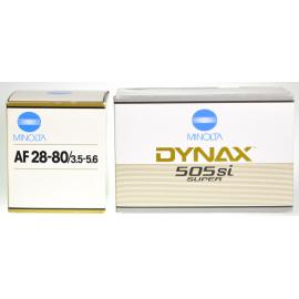 Minolta Dynax 505si Super + AF Zoom 28-80mm f/3.5-5.6