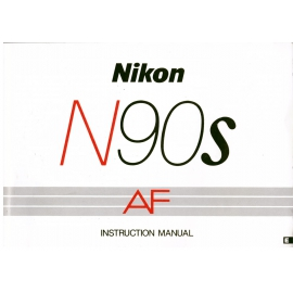 Nikon N90s Instruction manual ( In English )