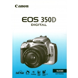 Canon EOS 350D Instructions for Finnish