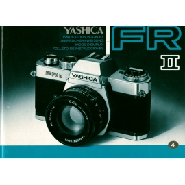 Yashica FR II Instructions
