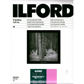 Ilford MULTIGRADE IV RC DE LUXE, Glossy - Photographic Paper 17,8 x 24cm/25 Sheet