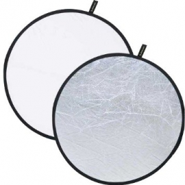 Creative Light Reflector 120cm - Silver/White