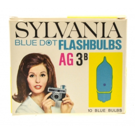 Sylvania Blue Dot Flashbulbs 10pc - AG 3b