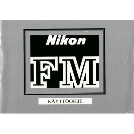 Nikon FM - Käyttöohje