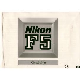 Nikon F5 - Käyttöohje