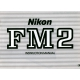 Nikon FM2 - Instruction Manual