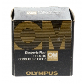Olympus OM Electronic Flash TTL Auto Connecter Type 3