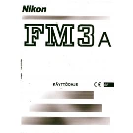 Nikon FM3a - Käyttöohje