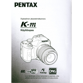 Pentax K-m - Käyttöohje