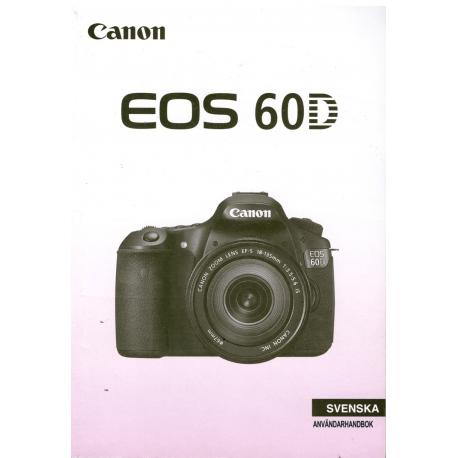 Canon EOS 60D - Användarhandbok
