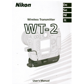 Nikon Wireless Transmitter WT-2 - Instructions