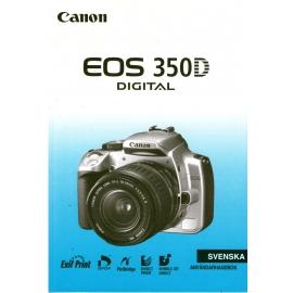 Canon EOS 350D - Användarhandbok