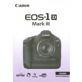Canon EOS-1 D Mark III - Instruktionsmanual