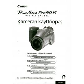 Canon PowerShot Pro90 IS - Käyttöohje