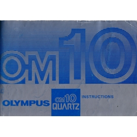Olympus OM10 Quartz - Instructions