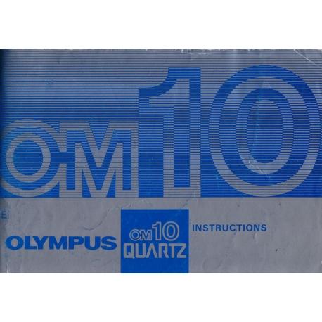 Olympus OM10 Quartz - Käyttöohje