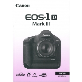 Canon EOS-1 D Mark III - Instructions