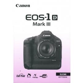 Canon EOS-1 D Mark III - Käyttöopas