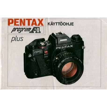 Pentax Program A Plus - Käyttöohje