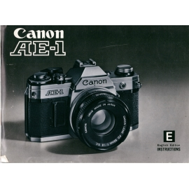 Canon AE-1 - Instructions