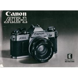 Canon AE-1 - Käyttöohje