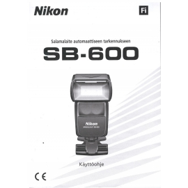 Nikon SB-600 - Käyttöohje