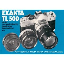 Exakta TL500 - Käyttöohje