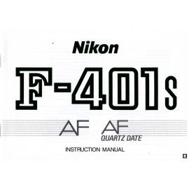 Nikon F-401s AF AF Quartz date - Instructions
