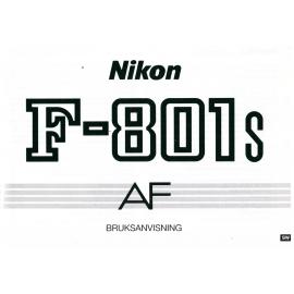 Nikon F-801s AF - Bruksanvisning