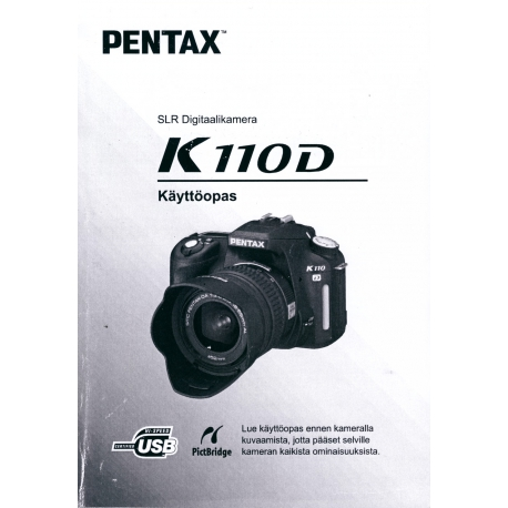 Pentax K110D - Instructions