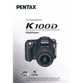 Pentax K100D - Instructions