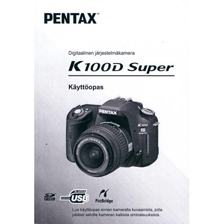 Pentax K100D Super - Instructions