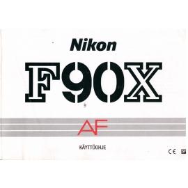 Nikon F90X AF - Käyttöohje Suomeksi
