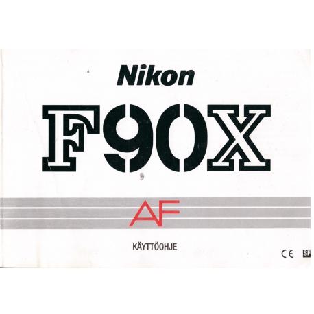 Nikon F90X AF - instructions in Finnish