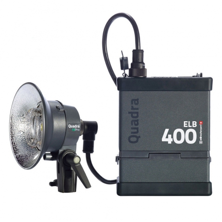 Elinchrom Quadra ELB 400 Hi-Sync One Pro Head Set