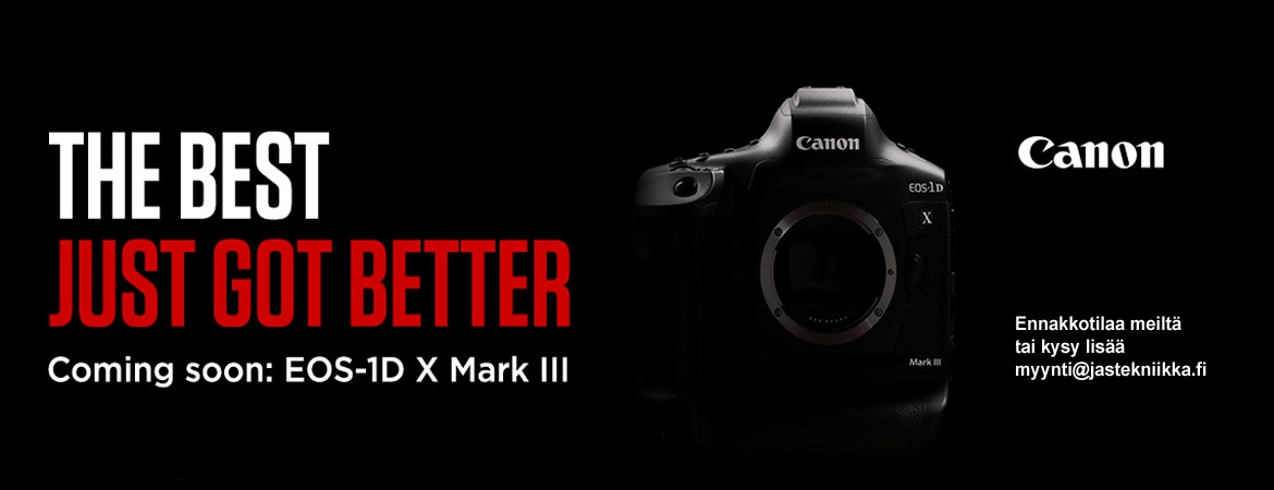 Canon EOS-1Dx Mark III