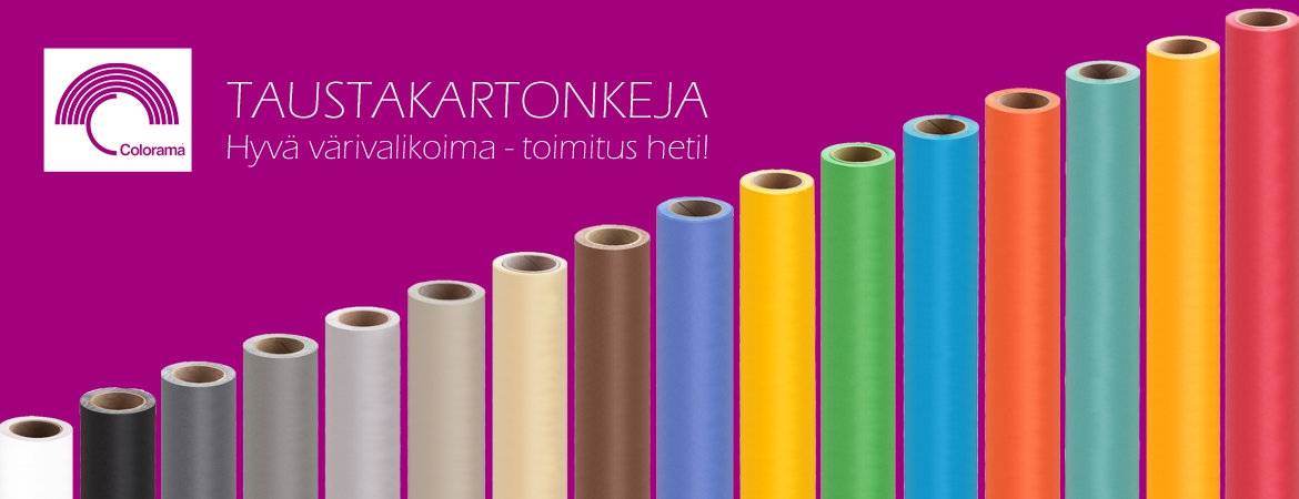 Colorama taustakartongit!